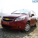 Chevrolet Sail sedan launched @ INR 4.99 lakhs
