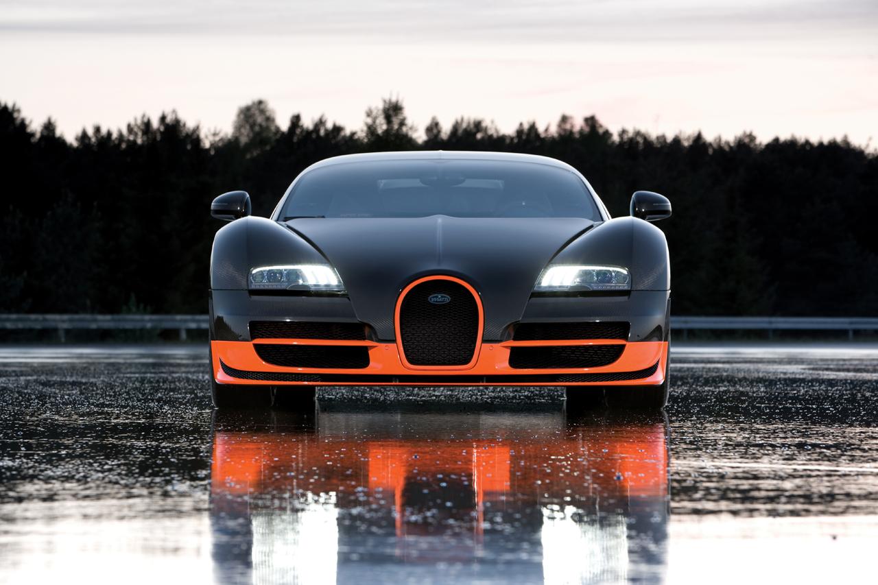 Bugatti Veyron Super Sportu0027s Top Speed To Be Restricted To 413 Km/h