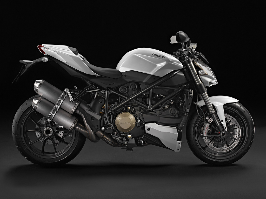 2011 Ducati Street Fighter S White