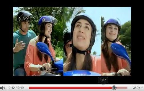 Mahindra Rodeo new TV commercial / ad starring Kareena Kapoor