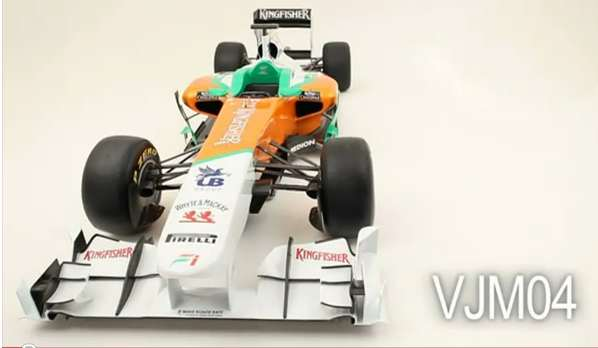 VJM004 Video: Force India F1 car VJM004 explained
