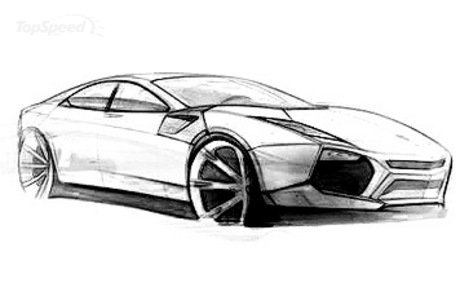 Sketches Lamborghini on Lamborghini Estoque Sketch Lamborghini Planning An  Everyday  Car  God
