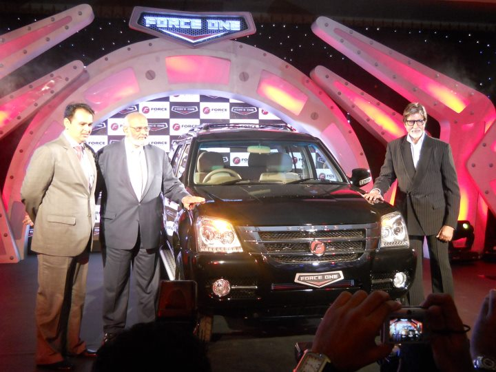 Force Motors launches Force one at Rs 10.65 lakh: all the details!-August 19, 2011-Force-One-SUV-amitabh-bachchan.jpg