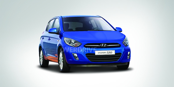 Hyundai i20 RENDERING 2012 facelifted Hyundai i20 preview!