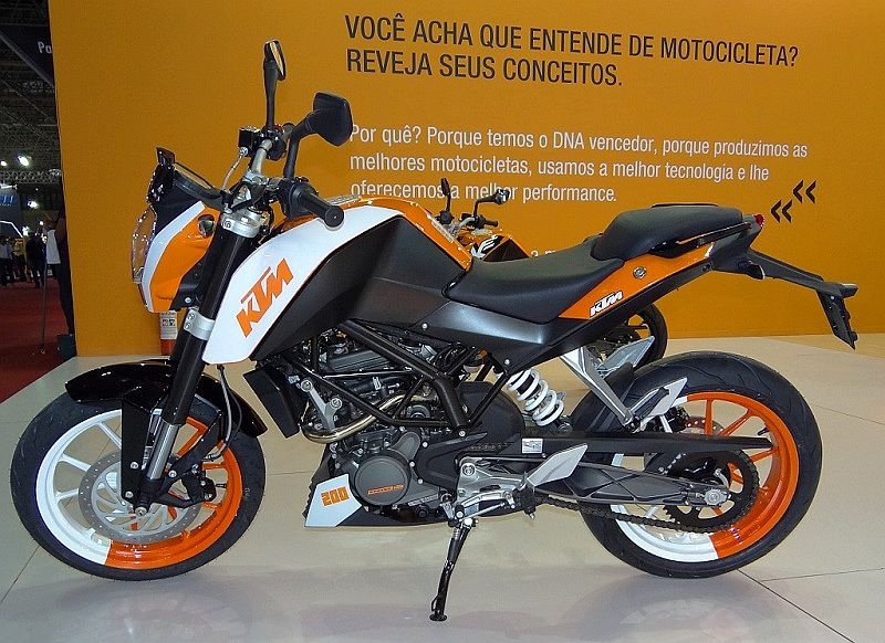 Ktm Duke 200 Specifications Ktm Duke 200 May be Launched