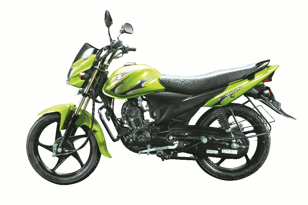 Hayate 7947 Auto Expo 2012: Suzuki two wheelers unveil Hayate Motorcycle and Swish scooter