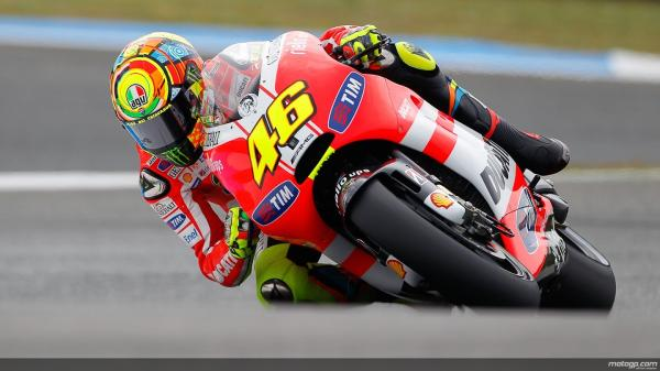 rossi Moto GP: Rossi says bagging the title is difficult