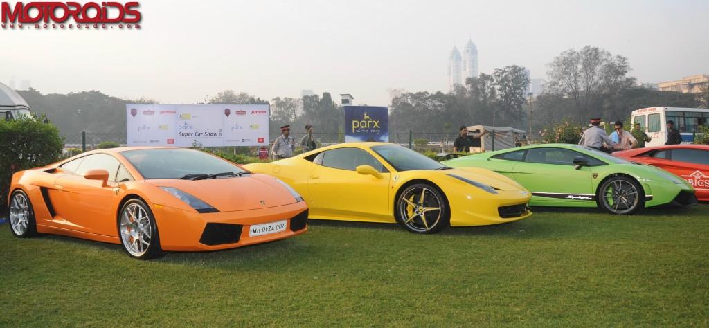 Fourth Parx Super Car Show Gets Underway In Mumbai