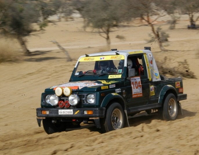 Maruti Suzuki Desert Storm 2012 Maruti Suzuki Desert Storm 2012 kicks off on 20th Feb 2012