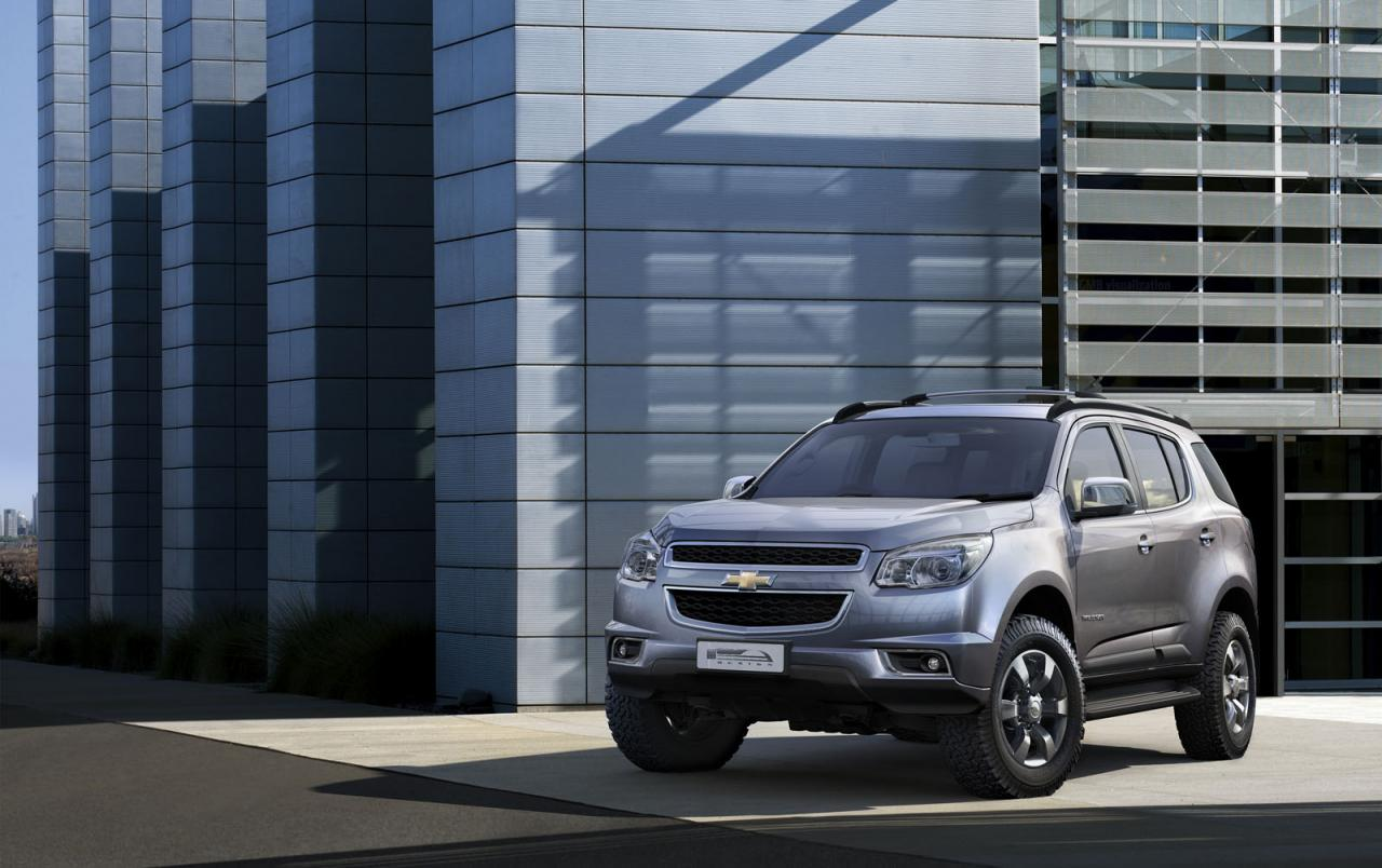 2013 Chevrolet Trailblazer 2 Chevrolet Trailblazer SUV Unveiled: May Arrive Here By 2013