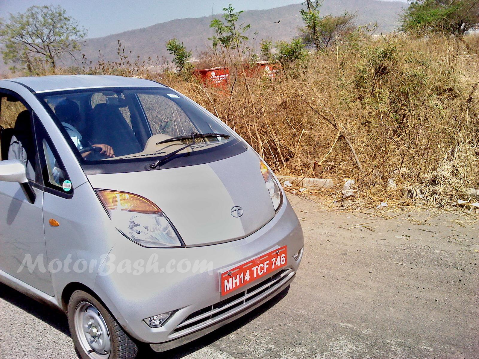 MotorBash TATA Nano 1 3 Tata Nano cars caught being tested in Pune