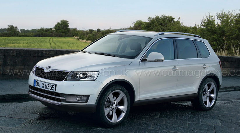 Skoda's New Crossover To Be called Snowman, New Yeti also in The ...