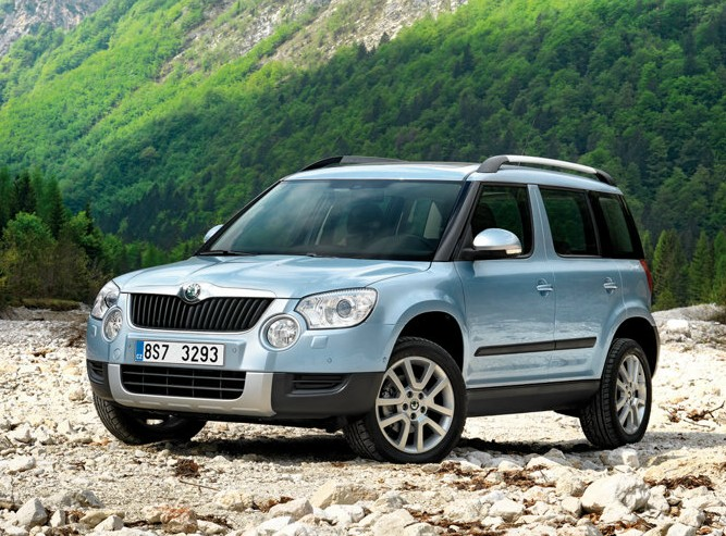 Skoda To Come Up With SUVs Positioned Below And Above Yeti