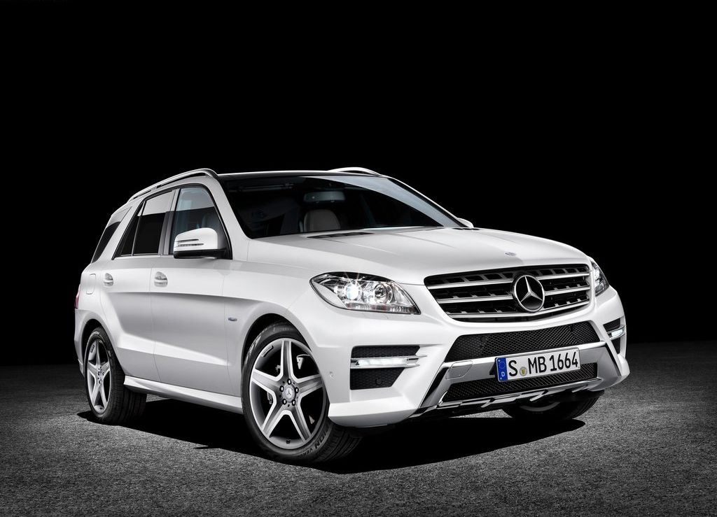 2012 Mercedes Benz ML350 CDI 2012 Mercedes Benz M Class to be launched in May