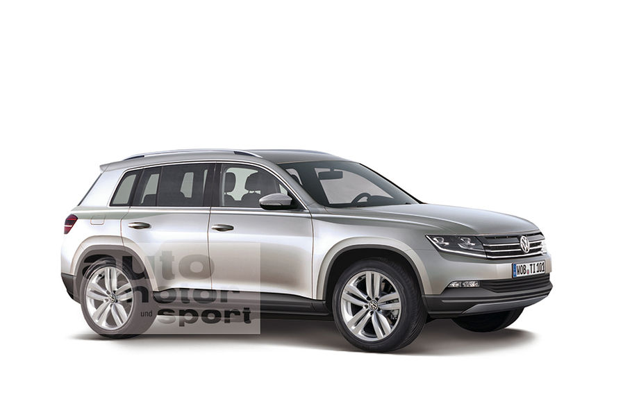 New 2015 VW Tiguan