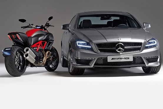 Ducati AMG partnership ends due to Audi takeover AMG breaks ties with Ducati soon after Audi acquires the bike maker