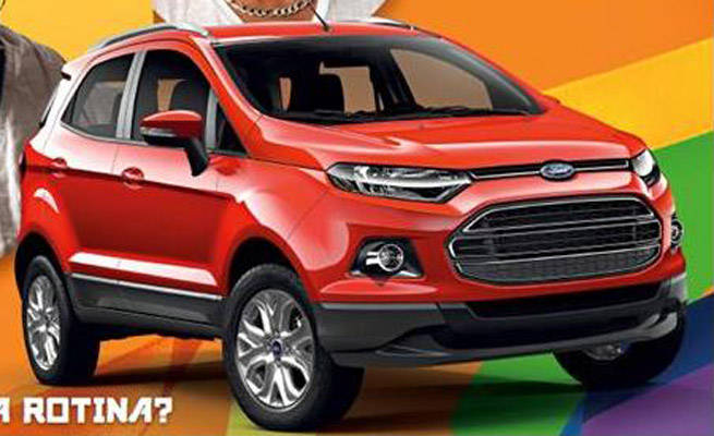 Production version of Ford Ecosport to be unveiled on 22nd this month