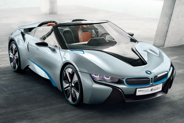 bmw i8 spyder BMW i8 Spyder to debut at Beijing Motor Show
