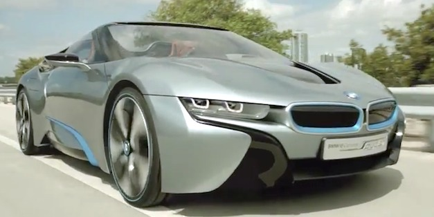 bmwi8spyder Video, Images and Details: BMW i8 Spyder