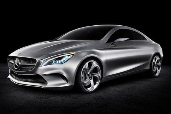 cla5 VIDEO: Mercedes Concetp Style Coupe