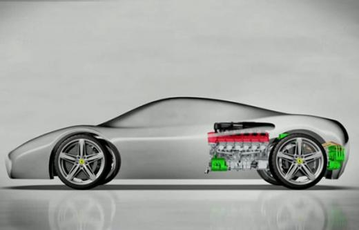 Ferrari announces powertrain details of Enzo successor