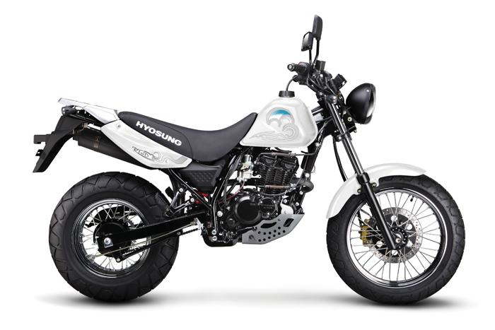 Hyosung developing 250cc off road bike for Indian market