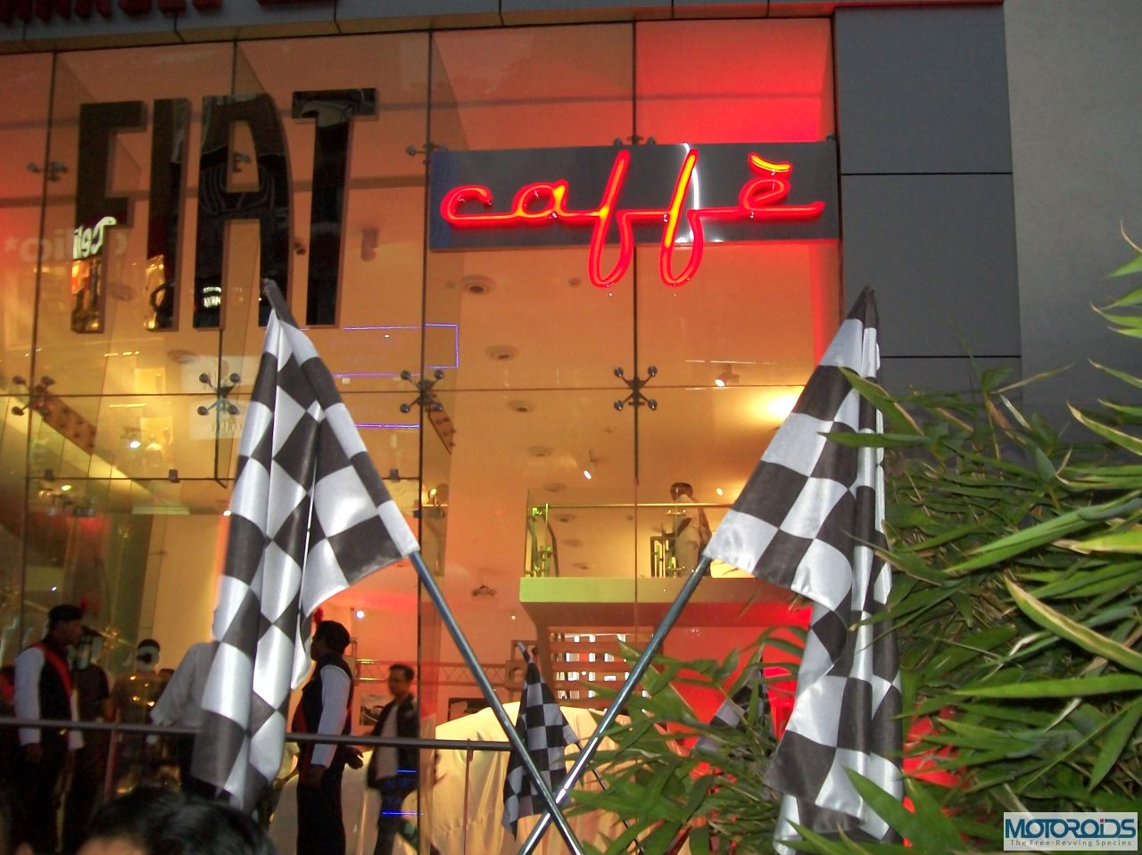Fiat Caffe launched at Pune. Finally a place to hang out for car buffs