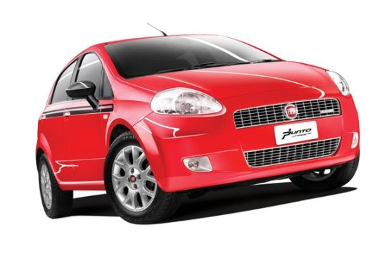 Fiat Punto 90 HP Sports launched @ INR 7.36 lakhs
