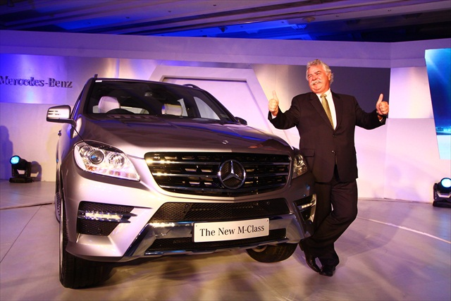 2012 Mercedes M Class launched price, details, specs and images