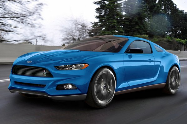 2015 Ford Mustang Global Car 2 Rendering: 2015 Ford Mustang
