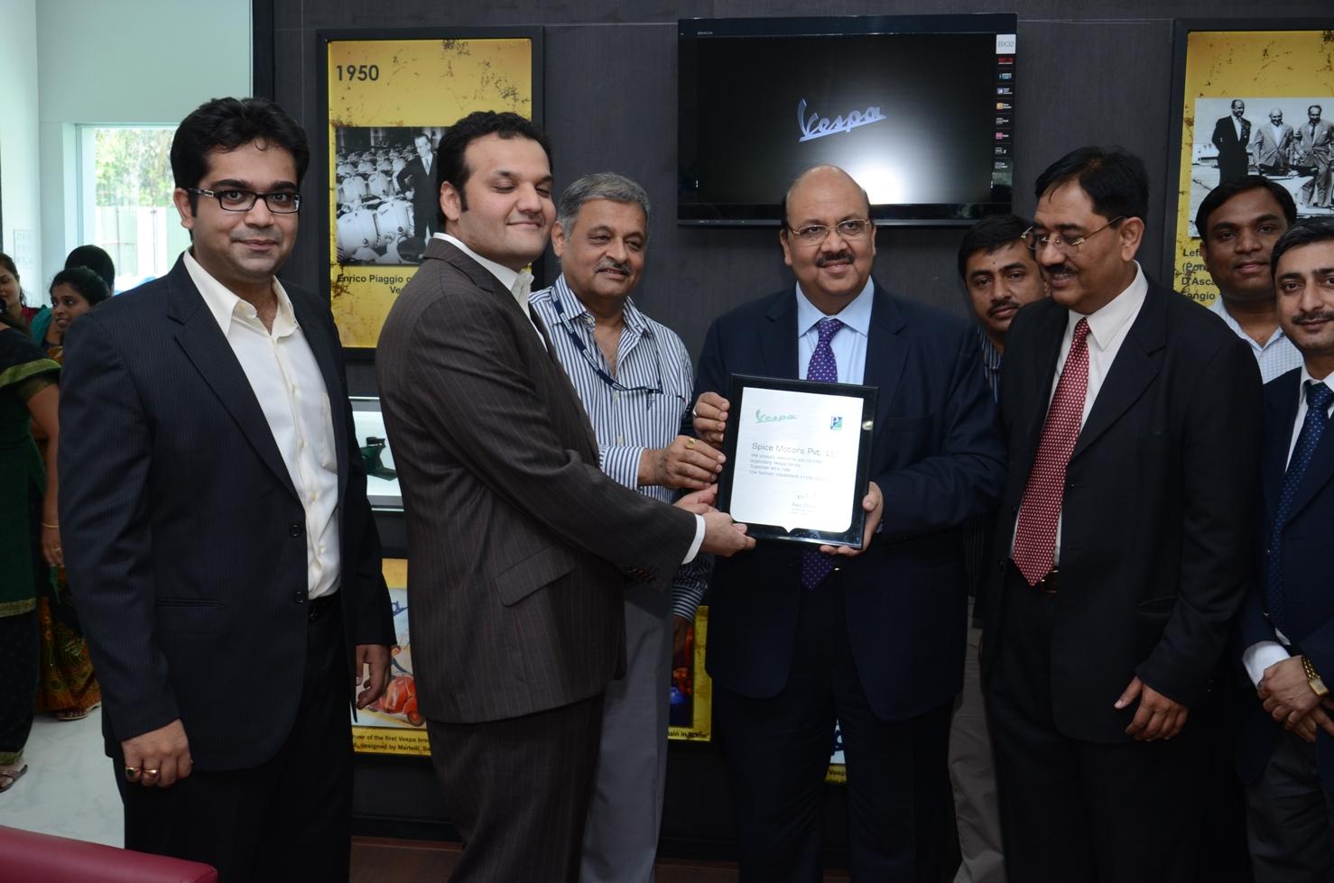 Vespa launches new dealership in Mumbai