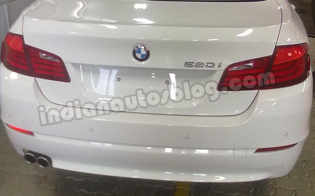BMW to introduce a budget end variant of 5 series-May 9, 2012-BMW-520i-India.jpg