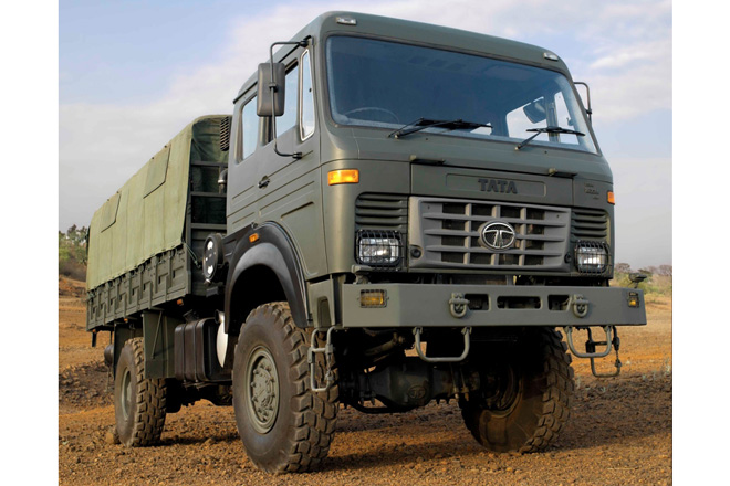 LPTA 1623 4x4 L Tata to supply trucks to Malaysian armed forces