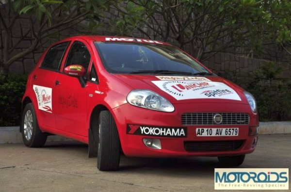 Motoroids gear up to better their own GQ record in a Punto 90hp