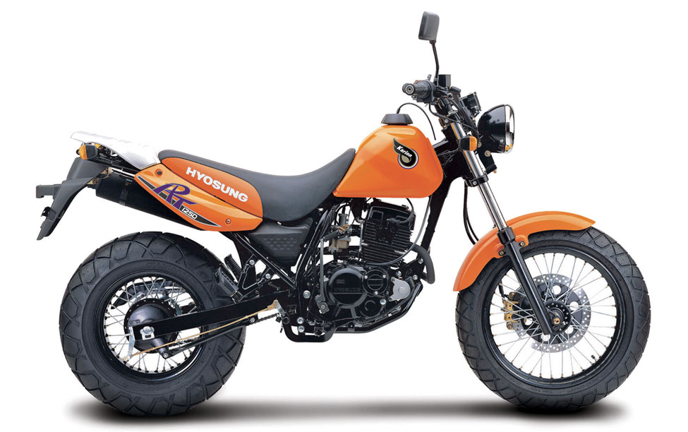 Hyosung developing RT250D on-off roader for India, sets up new plant