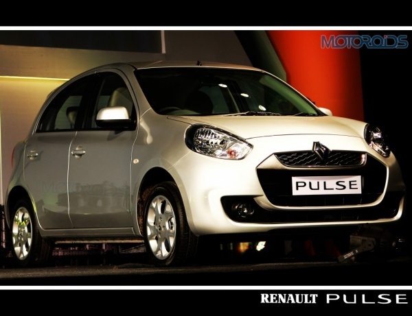 Renault Pulse petrol launched at INR 4,25,000
