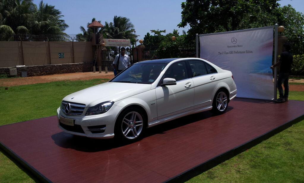 Mercedes Benz launches the C Class AMG Performance Edition @ INR 34.62 lakhs. Poor man's C63 AMG ??