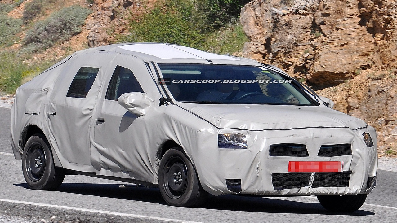 2014 Dacia Logan Sedan SPIED: All new Renault Logan. Will it come to India?
