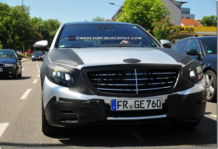 SPIED: Next gen Mercedes Benz S Class caught again