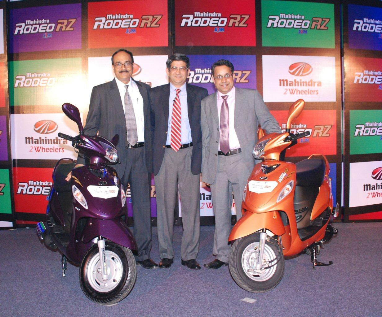 Chennai Launch 2 Mahindra Two Wheelers launches new Rodeo RZ in South India