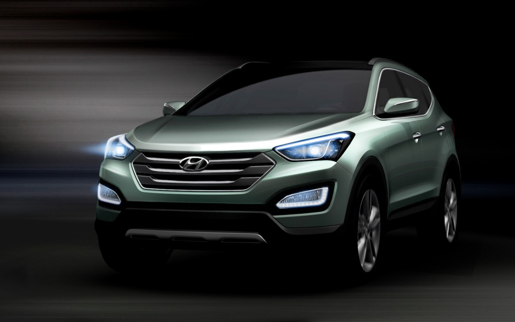 Hyundai Santa Storm Edge Hyundai Releases Video on 2013 Santa Fes 'Storm Edge' Design Language