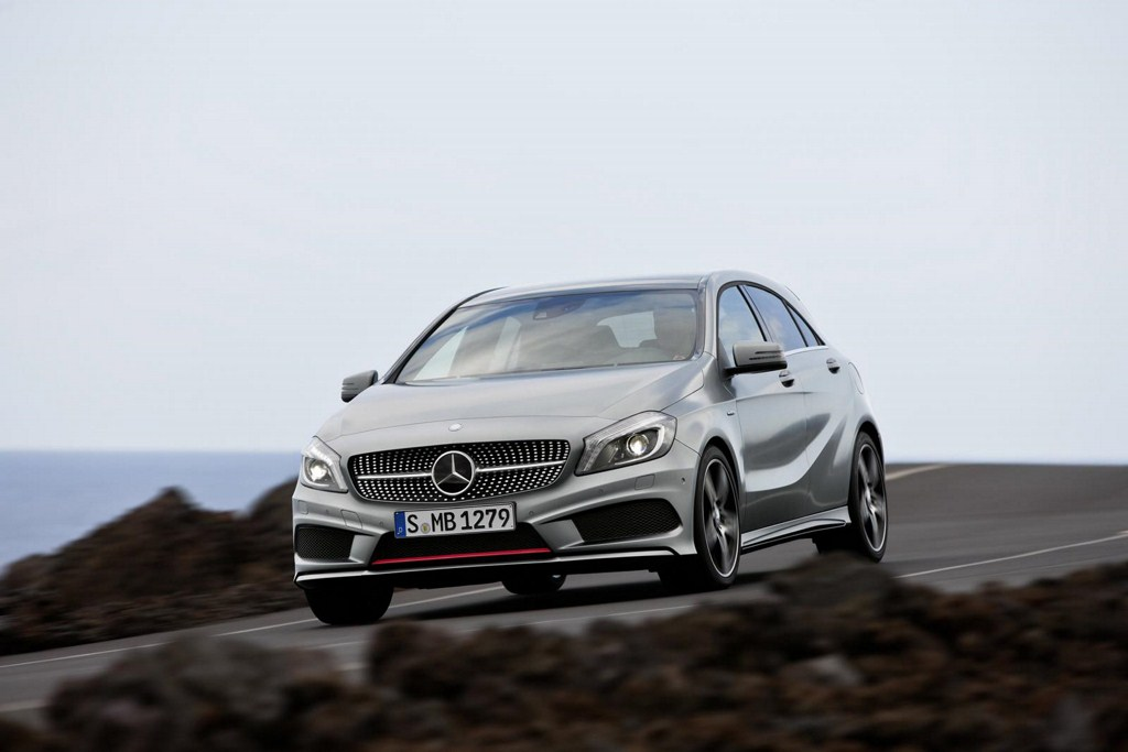 VIDEO: Mercedes Benz A class. Goes on sale in European markets