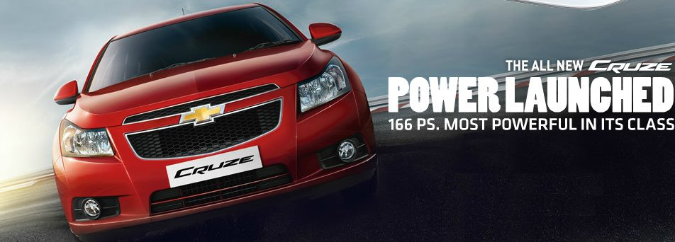 Updated Chevrolet Cruze launched @ INR 13.85 lakhs