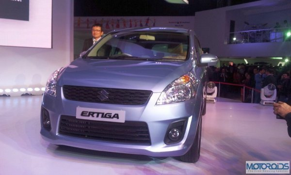 ertiga Maruti Suzuki Ertiga bags 45000 bookings for Ertiga. MSIL must be LUVing it!