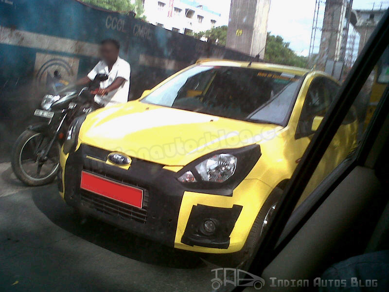 SPIED Ford Figo Facelift