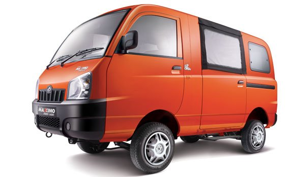 14080 Mahindra Maxximo mini van launched at INR 3.7 lakhs