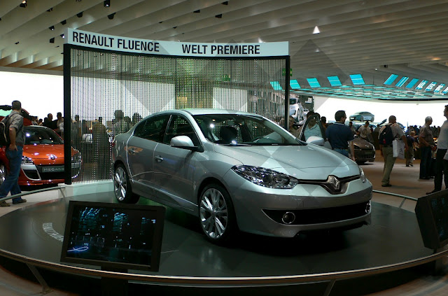 Is this how the Fluence facelift will look like?
