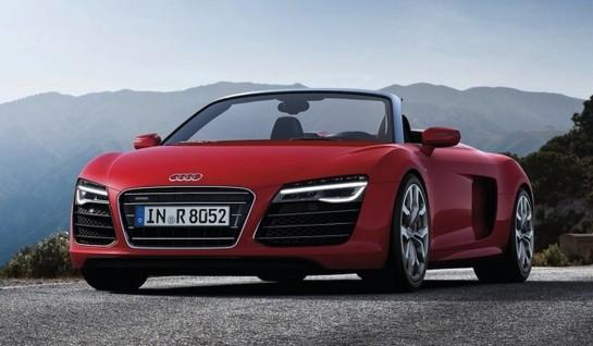 UNVEILED: 2013 Audi R8