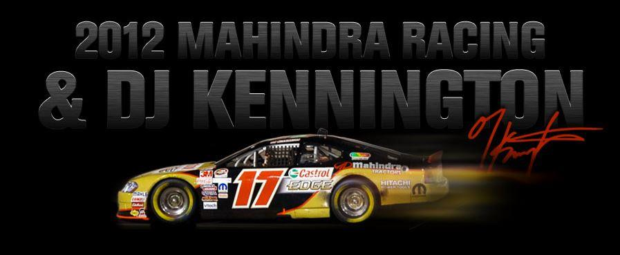 DJ Kennington Mahindra USA sponsored DJ Kennington claims fifth consecutive series victory in NASCAR Canadian Tire Series