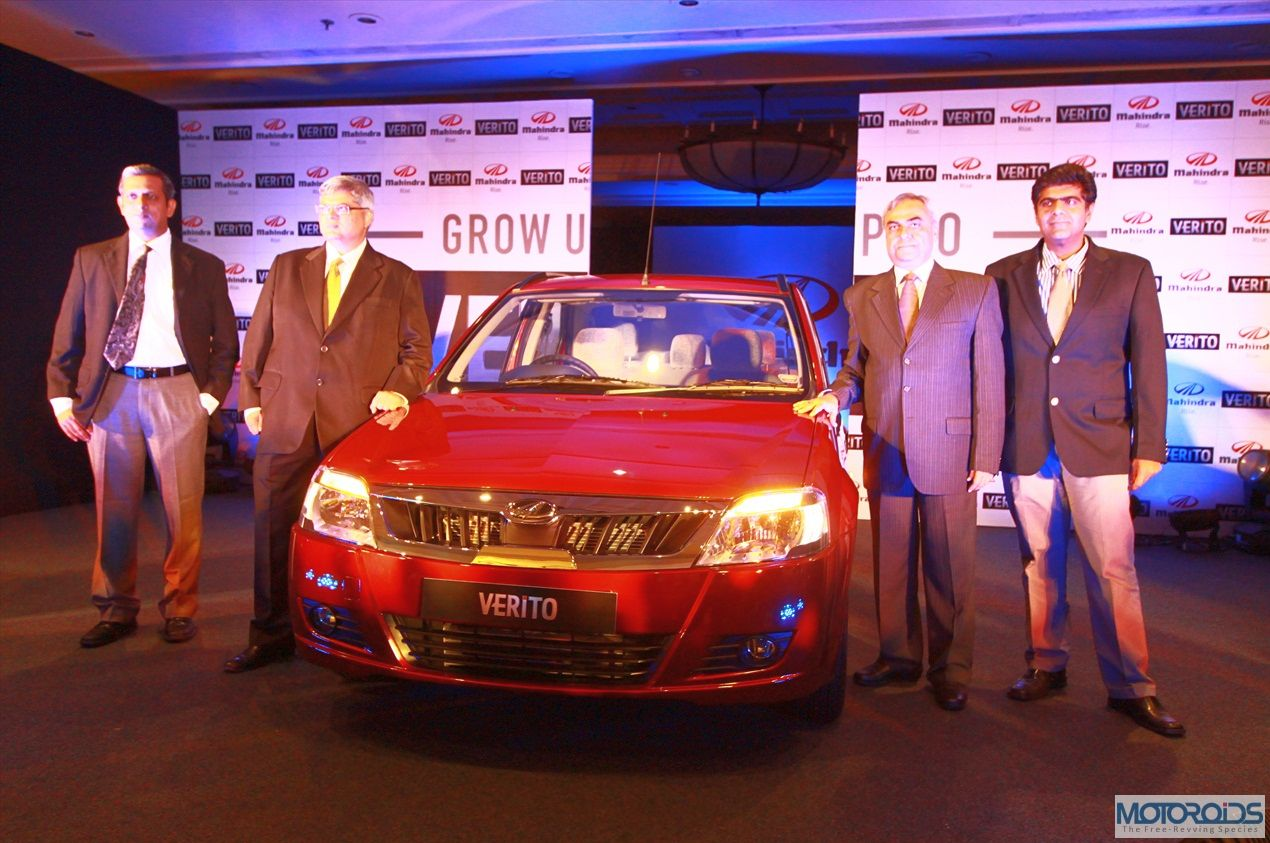 LIVE: Mahindra & Mahindra launches the Verito facelift @ INR 5.27 lakhs